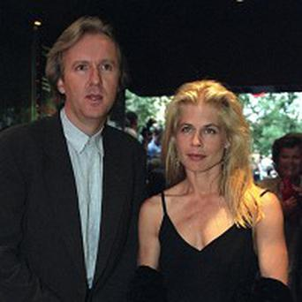 James Cameron and his ex-wife actress Linda Hamilton