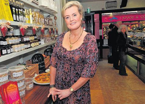 Claire Nash in her Nash 19 food shop. The store opened in September 2008 and today offers an extensive range of products made in-house from the restaurant's fully equipped kitchen, as well as a selection of wares from other Good Food Ireland producers