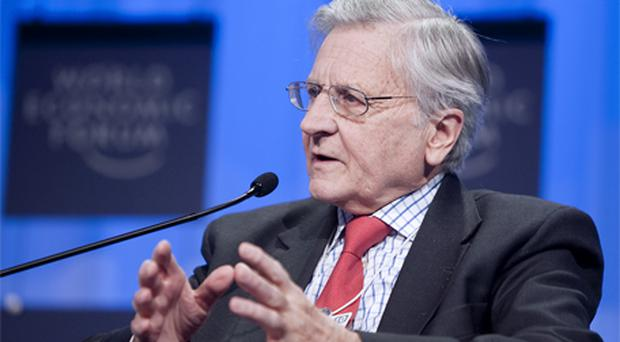 Trichet: Confident Greece can cut deficit. Photo: Bloomberg News