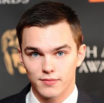 Nicholas Hoult wasn't uncomfortable about the skinny-dipping scene