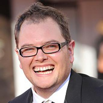 Alan Carr says he doesn't like being typecast
