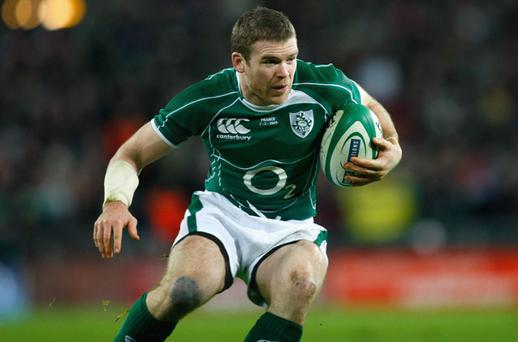 Gordon D'Arcy is showing signs of being back to his best after battling back from a serious forearm injury Photo: Getty Images