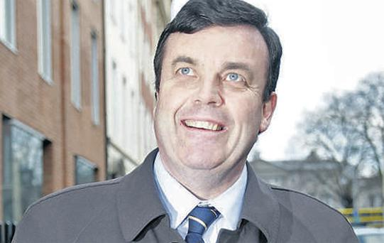Minister Brian Lenihan, who yesterday delivered the Finance Bill to the Dail