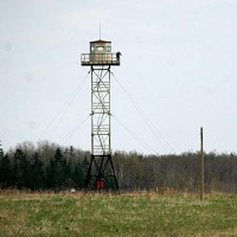 A Russian watchtower in Latvia - an abandoned town in the country is for auction