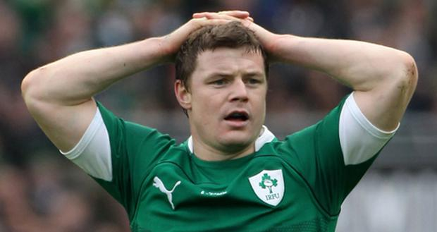 Brian O'Driscoll: 'There was no point getting frustrated. You take positives and move on'