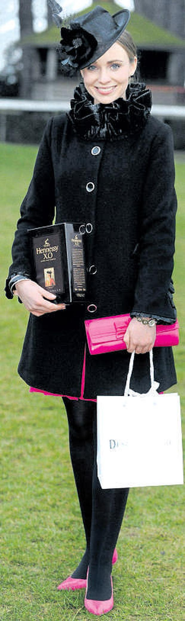 Charmaine Kenny at the Hennessy Gold Cup