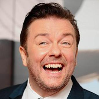Ricky Gervais has been won the Peter Ustinov Comedy Award