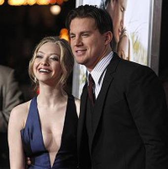 Amanda Seyfried and Channing Tatum star in Dear John, which is No 1 in America