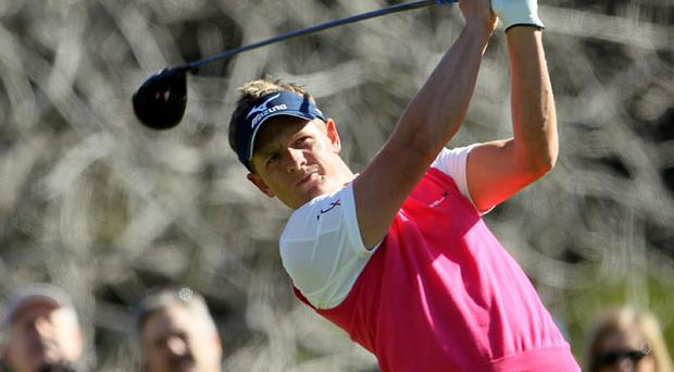 Luke Donald paid tribute to Steve Stricker the new world number two Photo: Getty Images