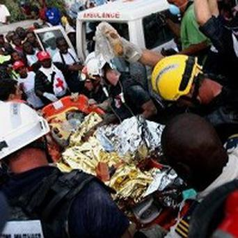 The last person to be rescued from the quake befor Mr Monsigrace was Darline Etienne, who was pulled from the rubble after 15 days
