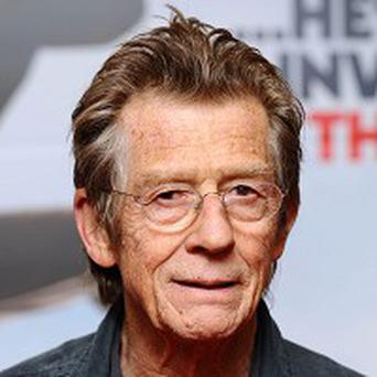 John Hurt said he's 'delighted' to be receiving a Lifetime Achievement Award