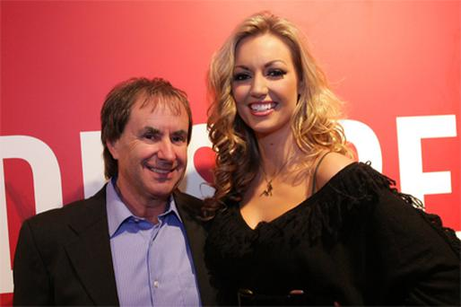 Chris De Burgh and daughter Rosanna Davison