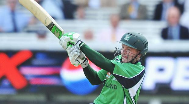 Niall O'Brien top scorer with 84 from just 50 balls Photo: Getty Images