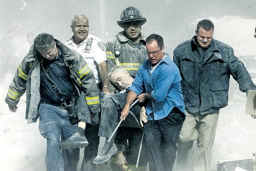 Fire department chaplain Mychal Judge, who lost his life