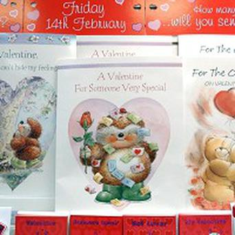 A primary school has been criticised after banning Valentine cards