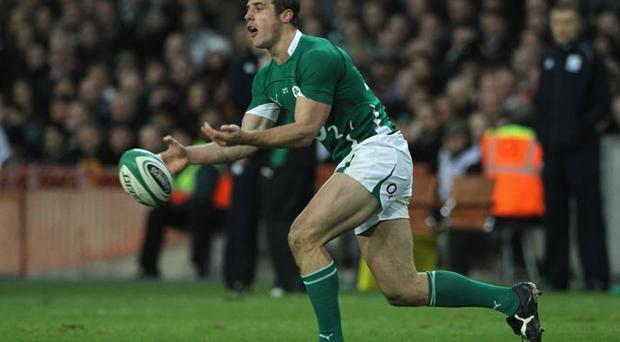 French challenge: Tommy Bowe is feeling confident Photo: Getty Images