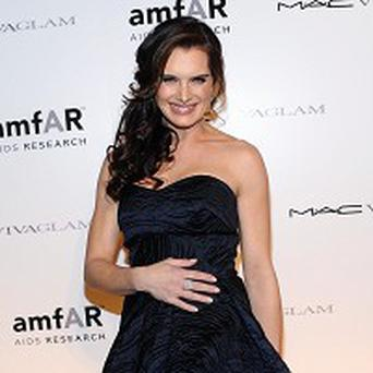 Brooke Shields was overcome with emotion on the red carpet