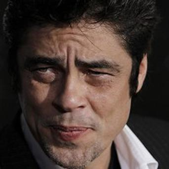 Benicio Del Toro was a little intimidated by Sir Anthony Hopkins