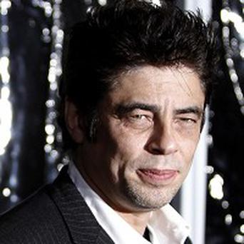 Benicio Del Toro didn't mind getting made-up for his new role