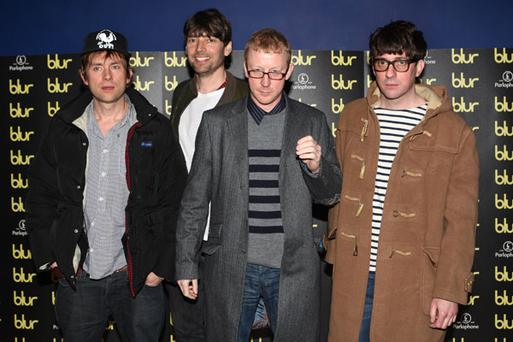 Blur have a new documentary DVD exploring the bands reunion. Photo: Getty Images
