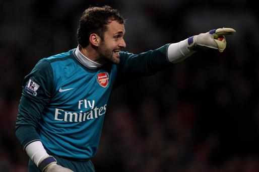 Manuel Almunia has admitted that Arsenal have deserved their recent criticism. Photo: Getty Images