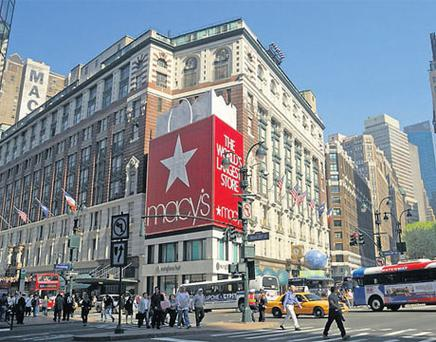 IN THE BAG: Macy's Store, New York