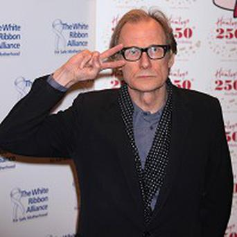 Bill Nighy said he had a great time on the Potter film
