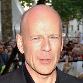 Bruce Willis says drunk men want to fight him