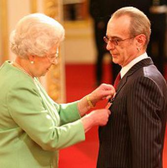 Francis Rossi was made an OBE by the Queen