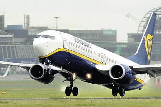 TAKE OFF: Ryanair founder Declan Ryan is concerned about domestic safety, following a number of robberies and security breaches at his house