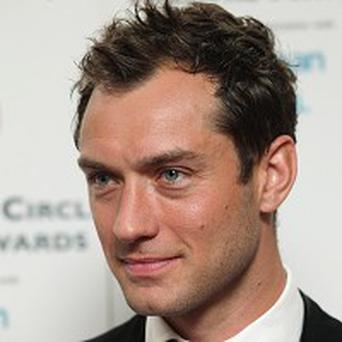 Jude Law has won theatre award for his title role in Hamlet