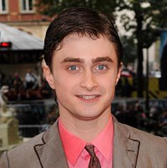 Daniel Radcliffe topped the Valentine's Day kisser poll