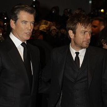 Pierce Brosnan and Ewan McGregor attended the premiere of The Ghost