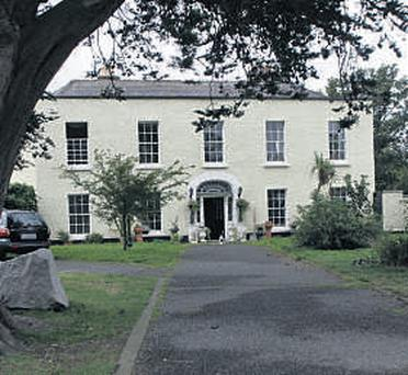 Twink's house in Knocklyon, Dublin