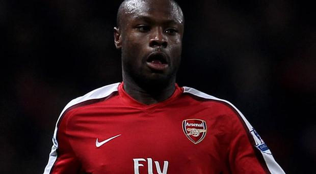An injured William Gallas will not appear for Arsenal in their confrontation against Porto tonight Photo: Getty Images