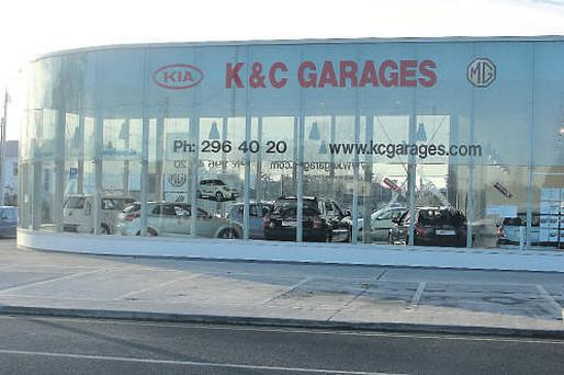K & C Garages,Kia and MG dealers, Breamor Rd, Churchtown, Dublin, 14.