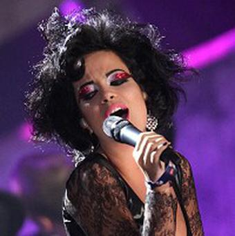 Lily Allen opened the Brits with a performance of The Fear
