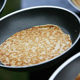 A council banned running at the annual pancake race