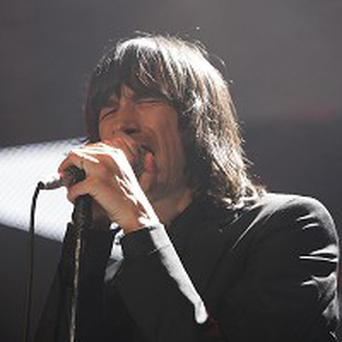 Bobby Gillespie of Primal Scream, which is to perform Screamadelica