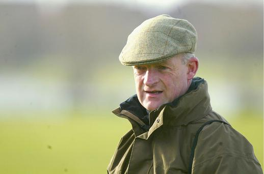 Trainer Willie Mullins scored a treble at Clonmel yesterday Photo: Getty Images