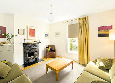Three-bedroom end of terrace house