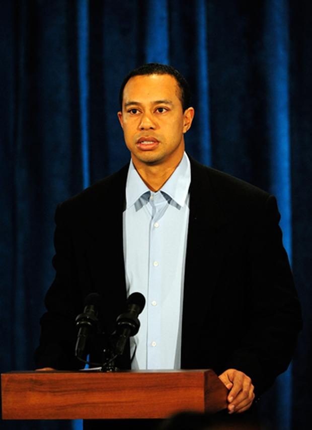 Tiger Woods apologises in a statement at TPC Sawgrass, home of the PGA Tour. Photo: Getty Images