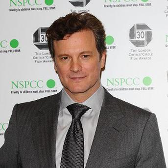 Colin Firth was named British Actor Of The Year