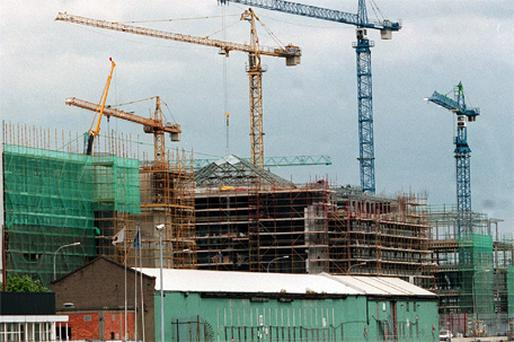 The bubble may have been built on construction and bank lending, but the modern Irish economy was not