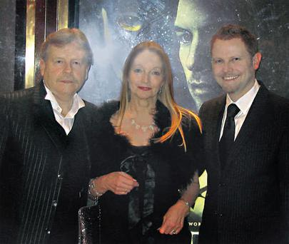 Richard with his parents Michael and Noeleen.