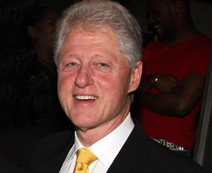 FORMER US president Bill Clinton was close to abandoning his role in Northern Ireland's peace process after the IRA's surprise attack on Heathrow Airport. Photo: Getty Images