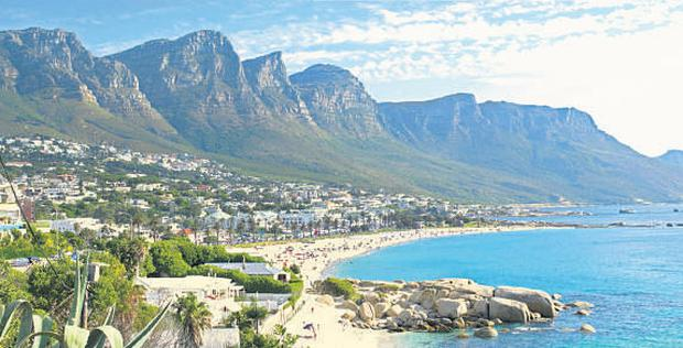 Camps Bay Cape Town's picture postcard stretch of coast