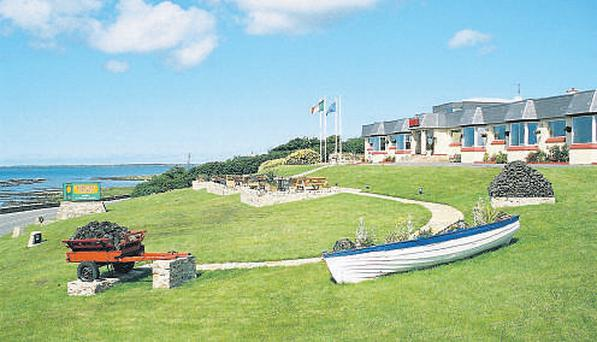 Ostan Na Rosann Hotel, Dungloe, Co Donegal is for sale with a €1m plus guide price. Located on an elevated site overlooking Dungloe Bay, its accommodation includes a lounge bar, restaurant, function room and 48 en suite bedrooms