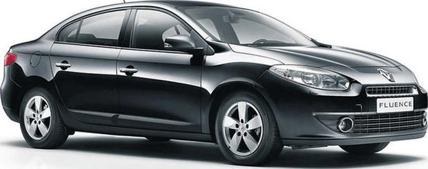 The new Renault Fluence will pose a challenge to sales of the Megane and Laguna.