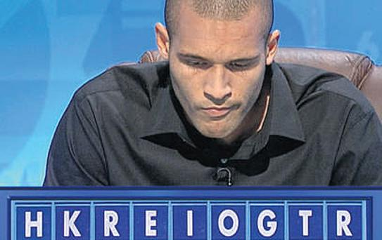 Burnley footballer Clarke Carlisle became the first Premier League player to appear on TV's 'Countdown' - but said nothing could be a substitute for the thrill of his day job. Photo: ITV STUDIOS/PA WIRE